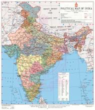 भारत का नया राजनैतिक मानचित्र